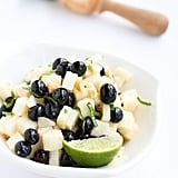 Spicy Blueberry Jicama Salad