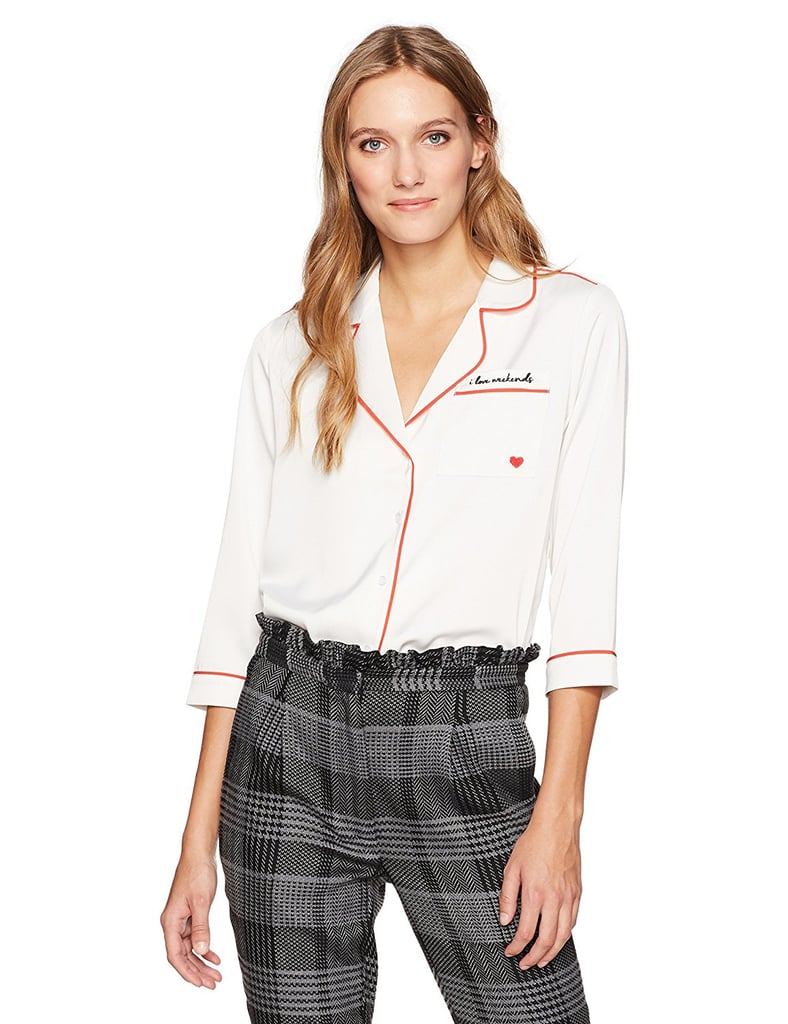 Dear Drew by Drew Barrymore Christopher St Button-Down Blouse
