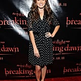 Nikki Reed posing at a Breaking Dawn event in San Francisco.