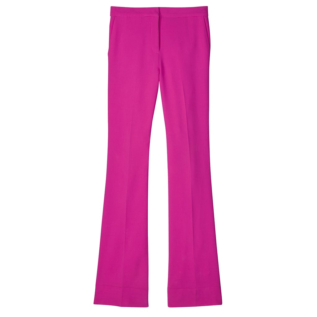 Fuchsia Twill Flared Trouser ($40)
