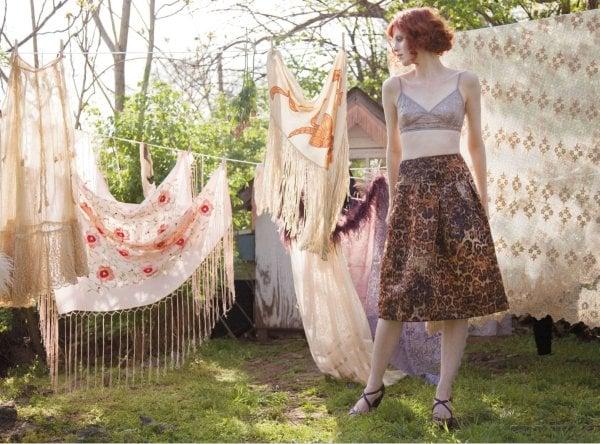 Karen Elson's Vintage Style