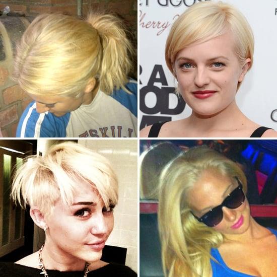 Miley Cyrus, Elisabeth Moss, Caroline Flack's Blonde Hair
