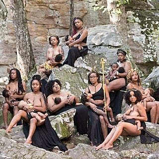 Women of Colour Breastfeeding Photo Shoot