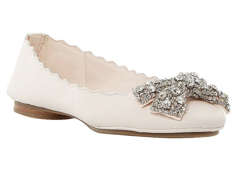 Dune Ivory Diamante Wedding Shoes