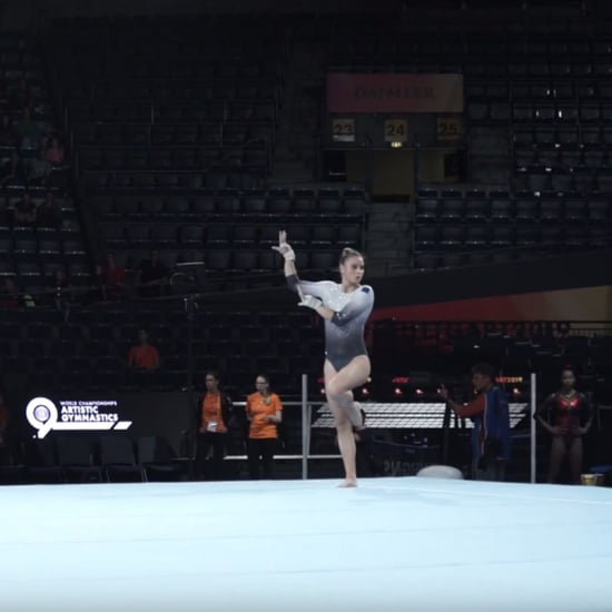 Watch This Gymnast's Billie Eilish Floor Routine
