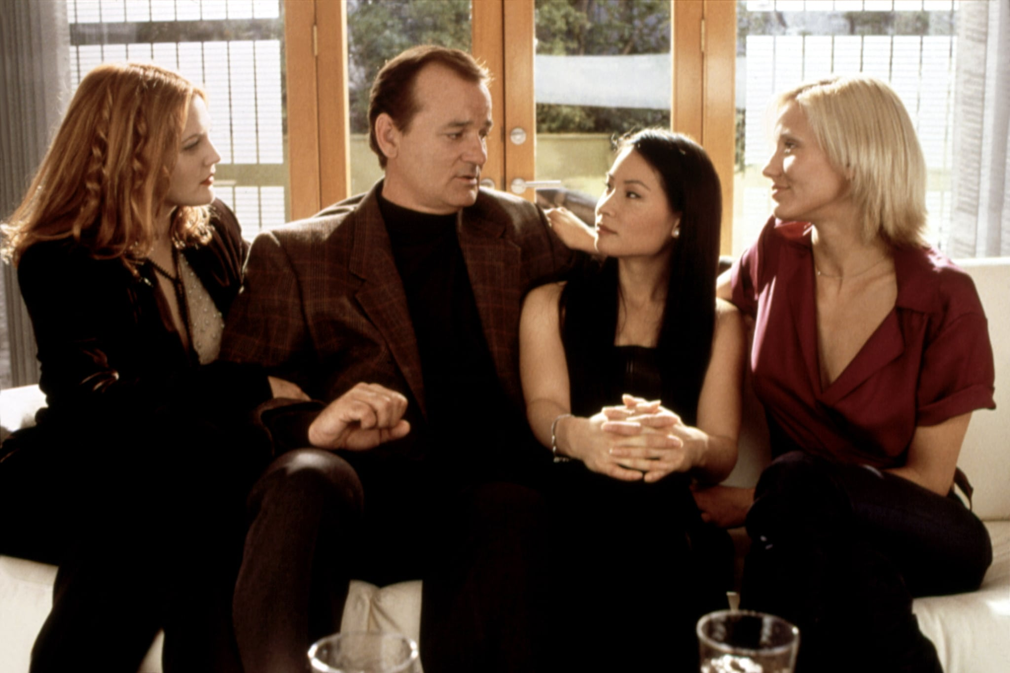 CHARLIE'S ANGELS, Drew Barrymore, Bill Murray, Lucy Liu, Cameron Diaz, 2000