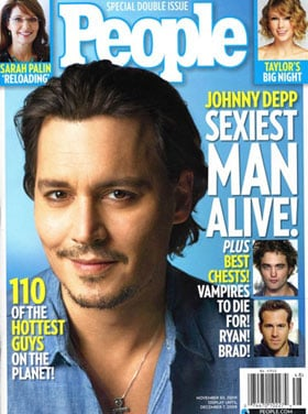 Johnny Depp Is People's Sexiest Man of the Year!