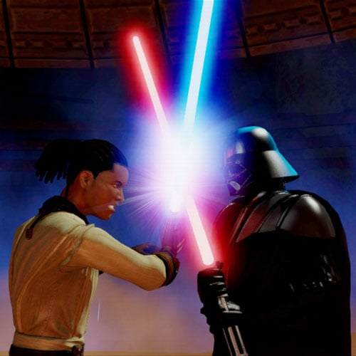 Kinect Star Wars Video Game and Other Movies on Xbox Kinect