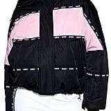 Topshop SNO Oversized Colorblock Jacket