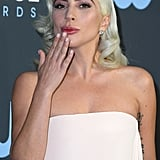 Lady Gaga at Critics' Choice Awards