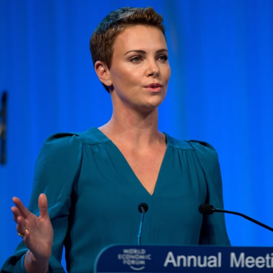Charlize Theron Accepts a Humanitarian Award  | Pictures