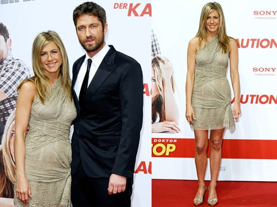 Photos of Jennifer Aniston and Gerard Butler at the Berlin Premiere of The Bounty Hunter
