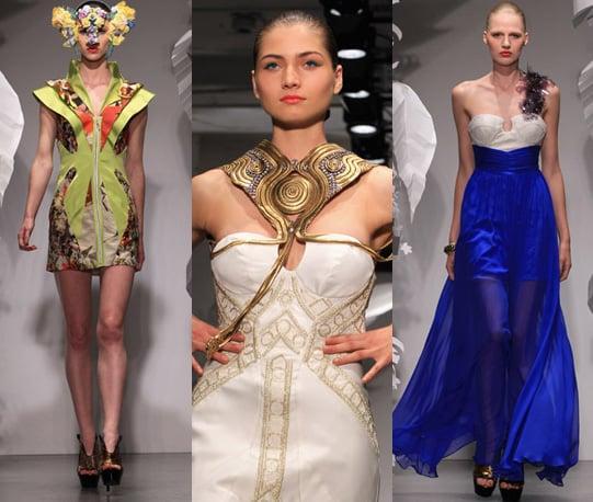 Photos of Ashley Isham Spring 2011 at London Fashion Week