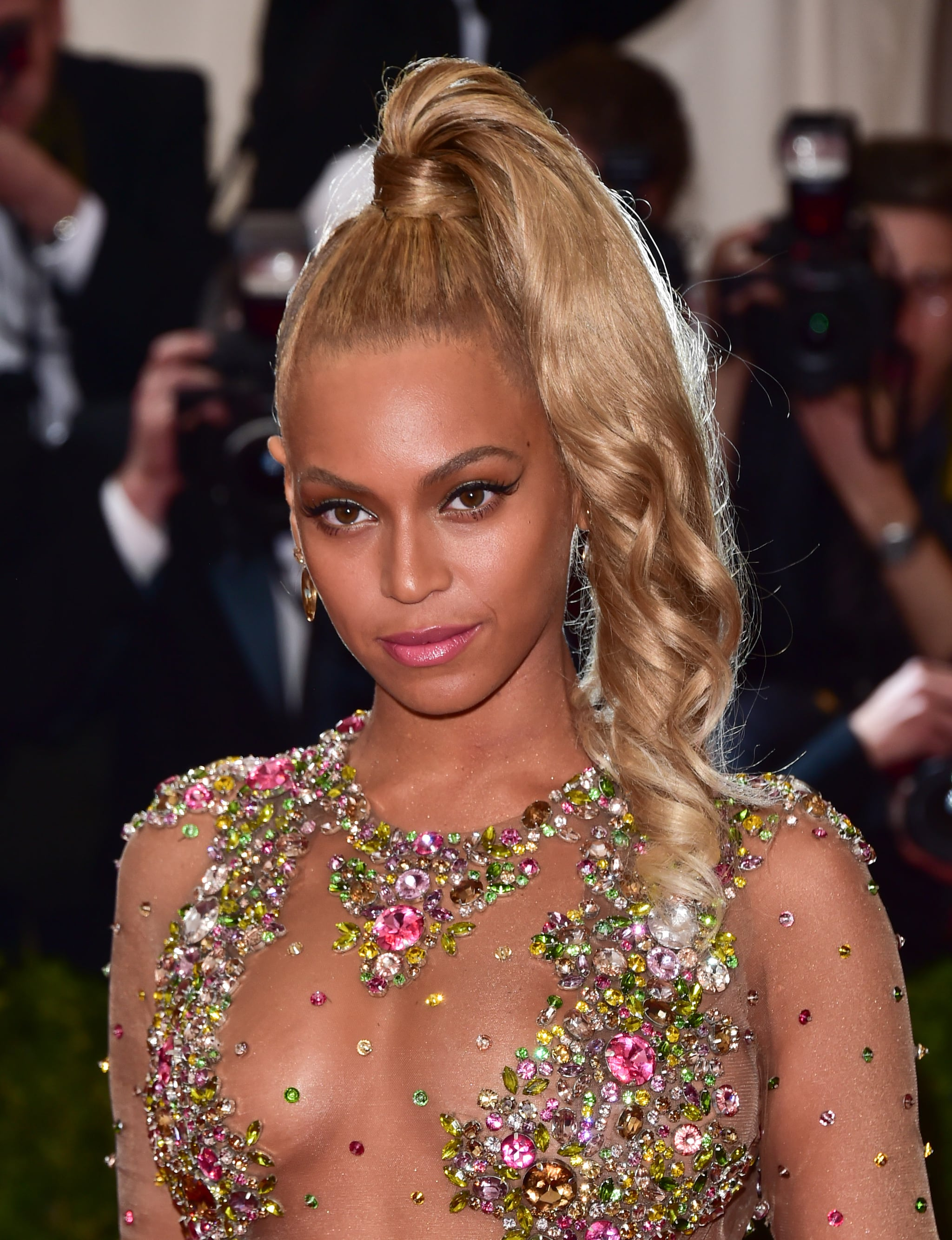 NEW YORK, NY - MAY 04:  Beyonce attends the 'China: Through The Looking Glass' Costume Institute Benefit Gala at Metropolitan Museum of Art on May 4, 2015 in New York City.  (Photo by George Pimentel/WireImage)