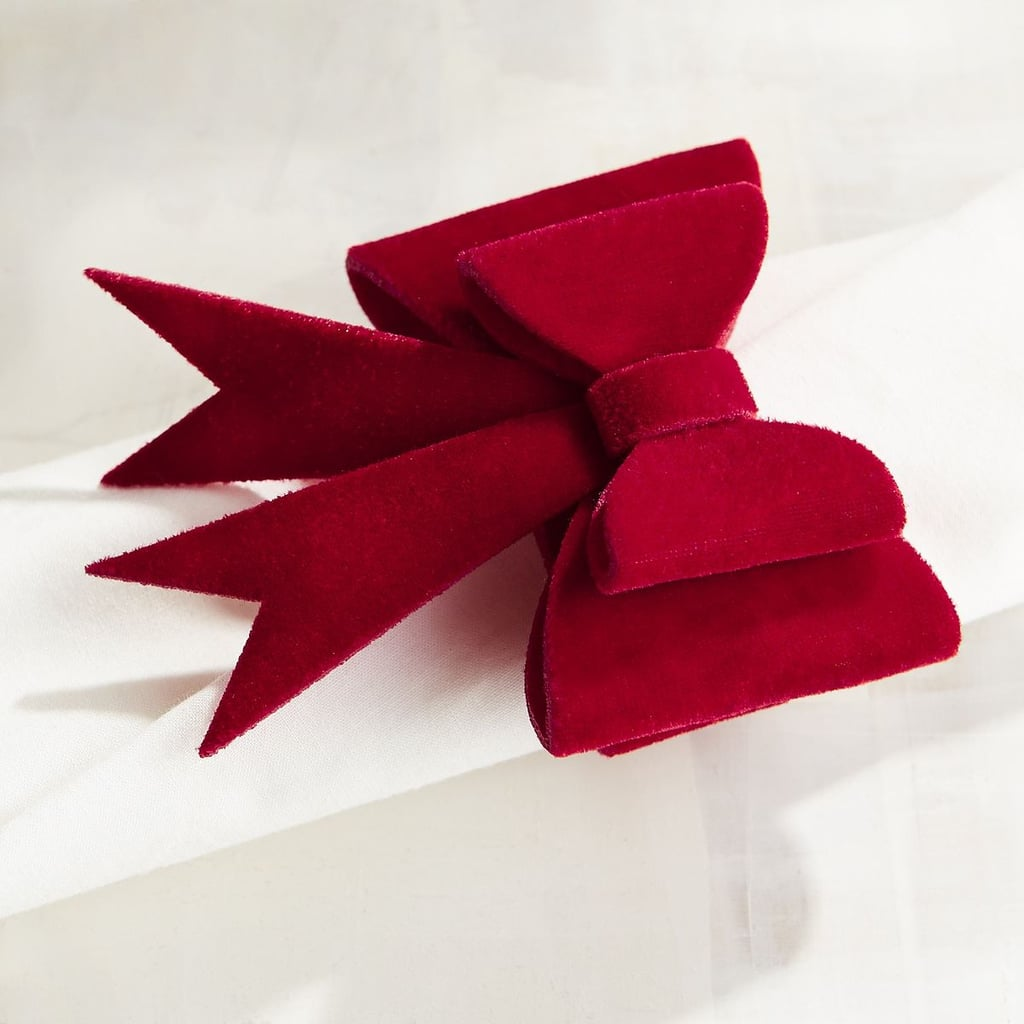 Red Velvet Bow Napkin Ring ($2, originally $3)