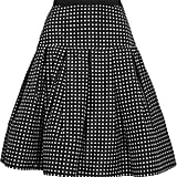 Oscar de la Renta for The Outnet polka-dot silk-taffeta skirt ($450)