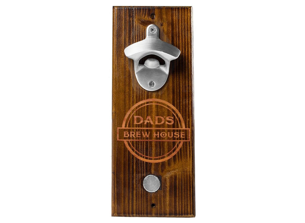 'Dad's Brew House' Wall Mount Bottle Opener