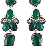 Gemco Drop Emerald Chandelier Earrings ($4,236)