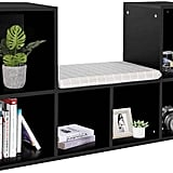 Gototop Multi-Functional Wooden Storage Shelf Bookshelf Bookcase With Reading Nook