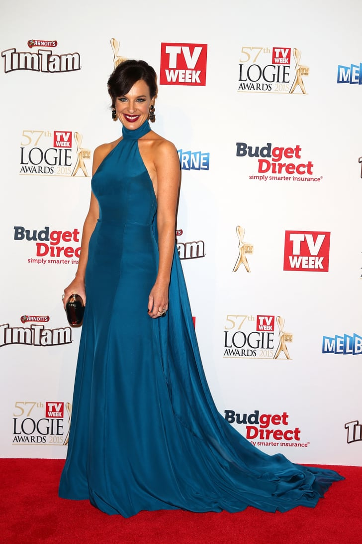 Natarsha Belling Tv Week Logies Awards Red Carpet Style