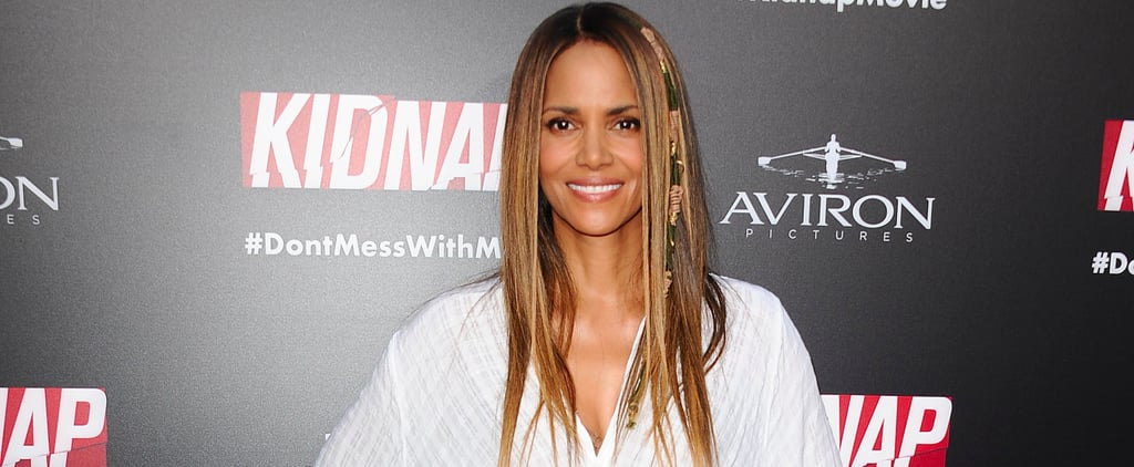 Halle Berry Gives Us Major '90s Vibes With Her Throwback Hair Wraps
