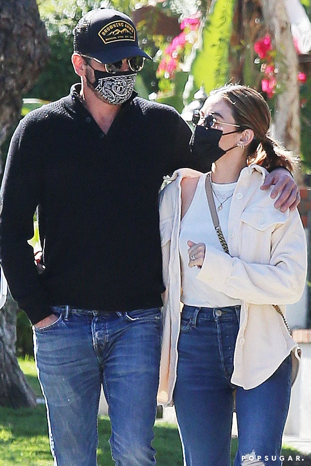 It seems the Archieverse is more connected than we originally thought. After Riverdale previously shared a crossover episode with Katy Keene, Lucy Hale was seen on a lunch date with Riverdale's Skeet Ulrich in Los Angeles on Feb. 21. The 31-year-old Katy Keene actress was spotted playfully holding hands across the table with the 51-year-old actor before leaning in for a kiss. The duo were then photographed out on a walk, complete with face masks.  Lucy was previously linked to The Bachelor's Colton Underwood, although he refuted the claims in August 2020. Most recently, Skeet dated model Megan Blake Irwin from May 2020 to September 2020. Prior to that, he was married to Georgina Cates — with whom he shares 19-year-old twins Jakob and Naiia — from 1997 to 2005 and Amelia Jackson-Gray from 2012 to 2015. He was also engaged to Rose Costa from 2016 to 2017.