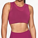 Athleta Reverse Layering Crop