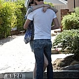 Anne and Adam showed PDA in LA.