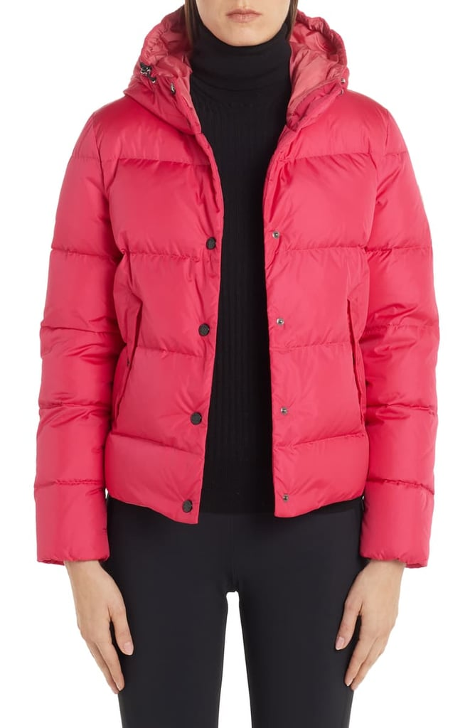 Moncler Lena Hooded Down Puffer Jacket