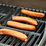 Indirect heat is your friend for hot dogs and sausages.