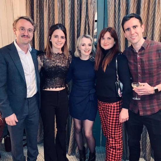 Tom Felton and Emma Watson Reunite With Harry Potter Costars