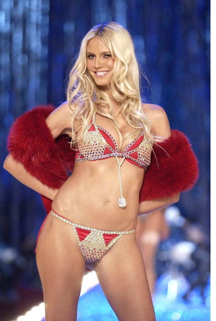 2003  heidi klum in the very sexy fantasy bra