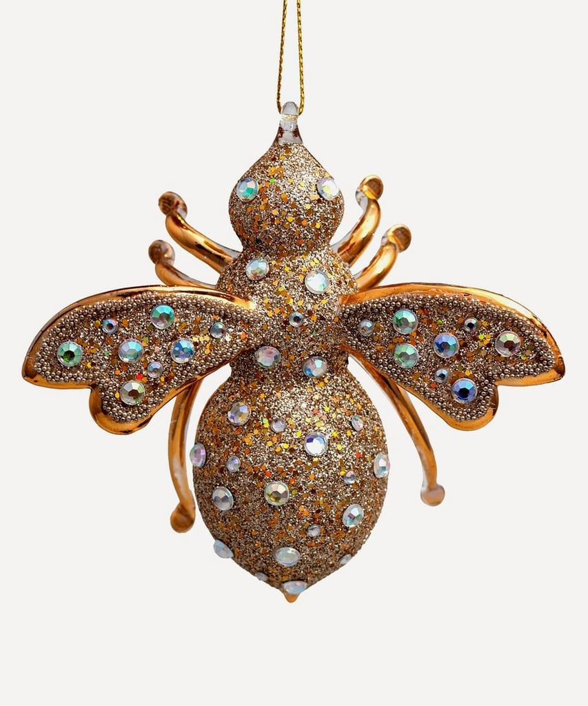Liberty London Glass Bee Ornament