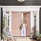 "Although Hilary never really considered herself a girlie girl in the traditional sense, her front door tells a different story. ""I've never seen myself as girlie, and I don't own much pink, even though I love it."""