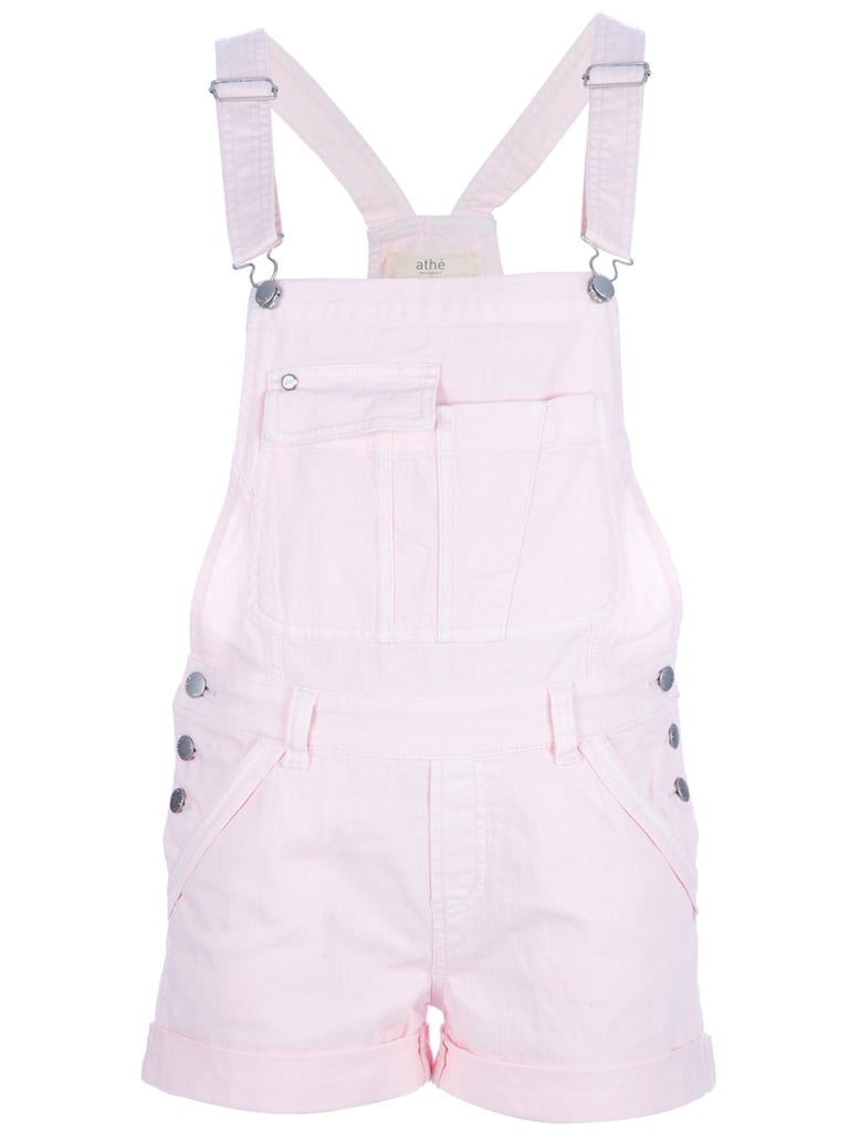 This pastel-hued version would be just the thing to pair with your favorite Converse for a Summer music festival.  Vanessa Bruno Athé Short Dungarees ($269)