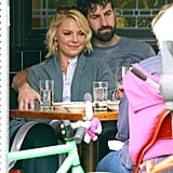 Josh Kelley put his arm around Katherine Heigl.
