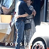 Sandra Bullock Kissing Bryan Randall in LA October 2017