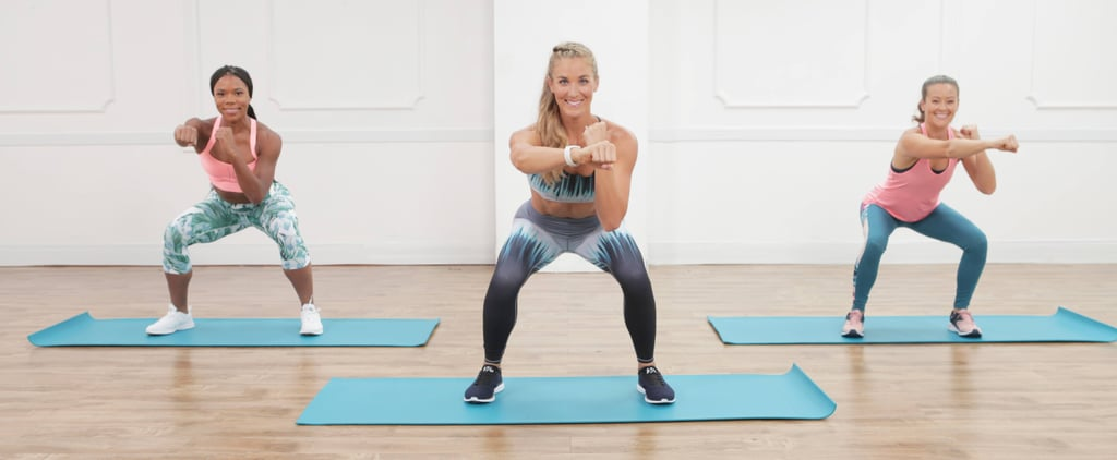 A Kickass Cardio Workout With Weights — Yeah, You're Going to Sweat!