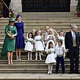 Theodora Williams Asking Sarah Ferguson If She's the Queen