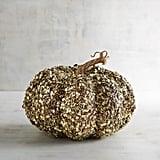 Gold Glitter Pumpkin