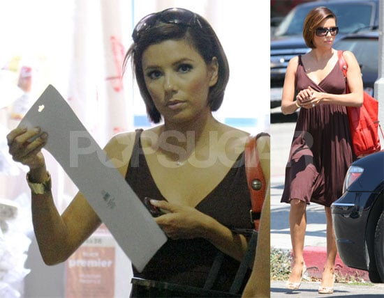 Photos of Eva Longoria, Who Recently Got A New Haircut From Tony Parker
