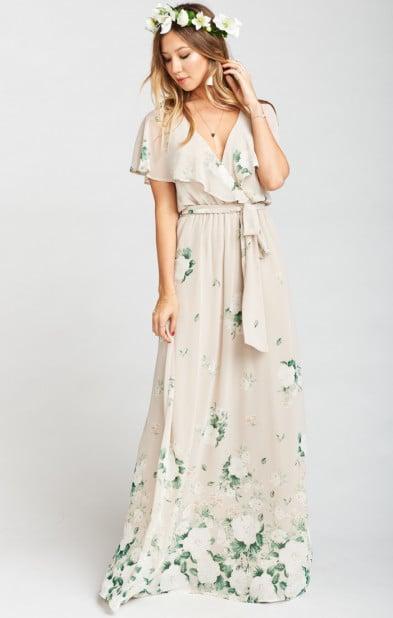 c7ca73ce63a7 Mumu Audrey Maxi Dress | Wedding Guest Dress by Body Type | POPSUGAR ...