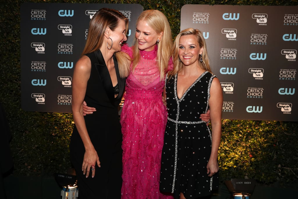 Pictured: Laura Dern, Nicole Kidman, and Reese Witherspoon