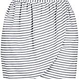 Harvey Faircloth Striped Skirt