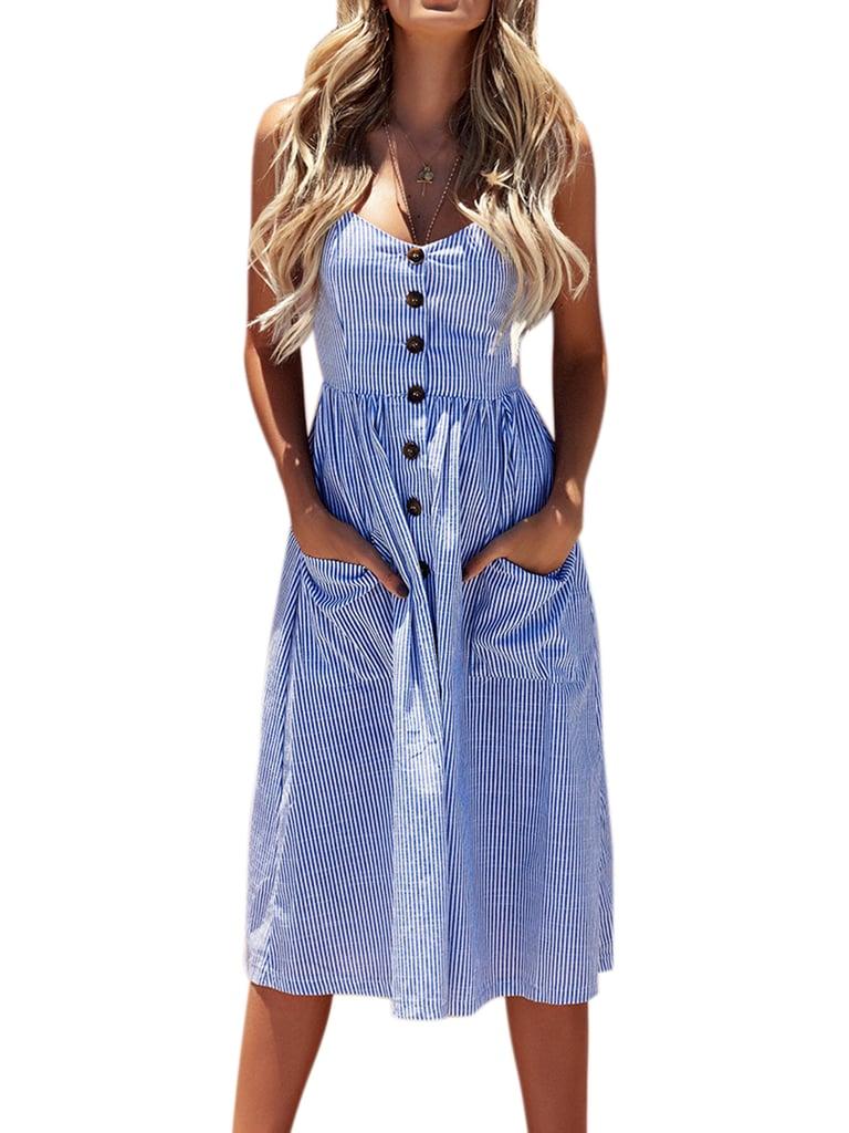 Holiday Beach Bardot Dress