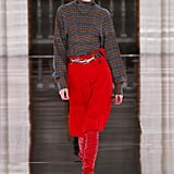 Victoria Beckham Fall/Winter 2020: VB Plays With Primary Colors