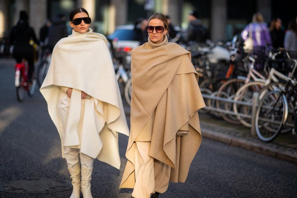 Bundle Up in Giant Blanket Scarves