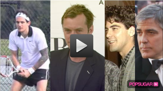 New Video of John Mayer Playing Tennis, Jude Law and Sienna Miller Engagement News, and George Clooney Hairstyles 2010-05-06 21:30:48.1