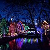 Hershey Park's Sweet Lights in Hershey, Pennsylvania