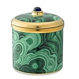 This beautiful malachite-patterned L'Objet jar ($125) is actually a lightly scented candle, too. Translation: a beautiful two-in-one piece for the mom who loves to decorate her home with bold accents.